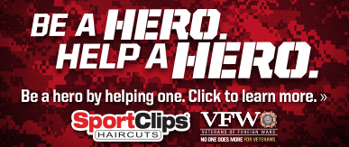 Sport Clips Haircuts of Lee Branch​ Help a Hero Campaign