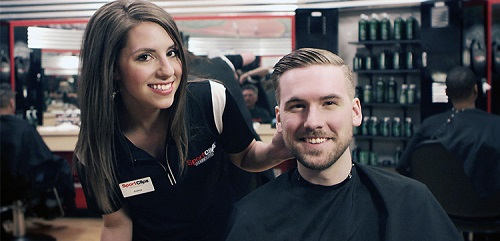 Sport Clips Haircuts of Lee Branch​ stylist hair cut